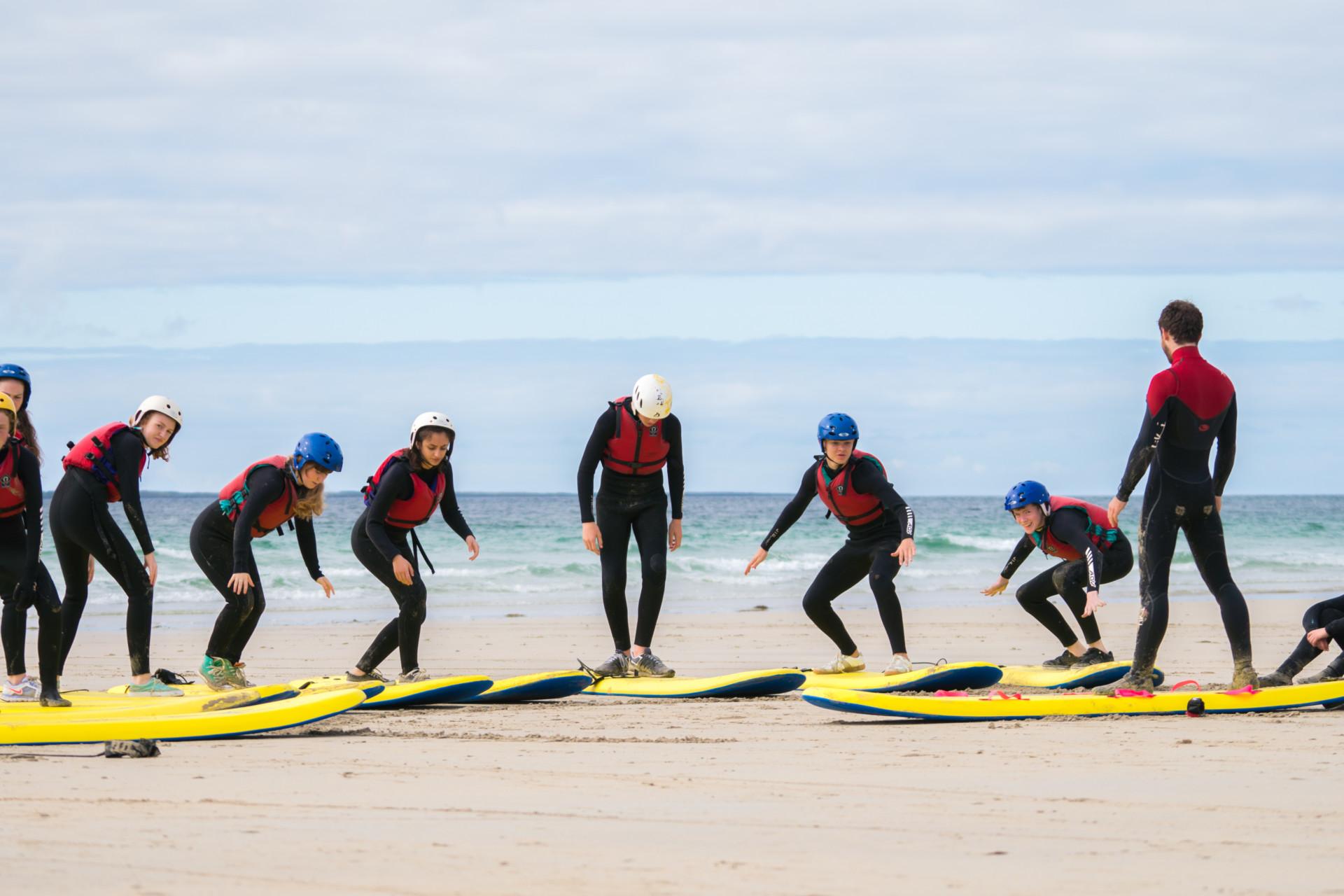 colaiste Uisce surfing