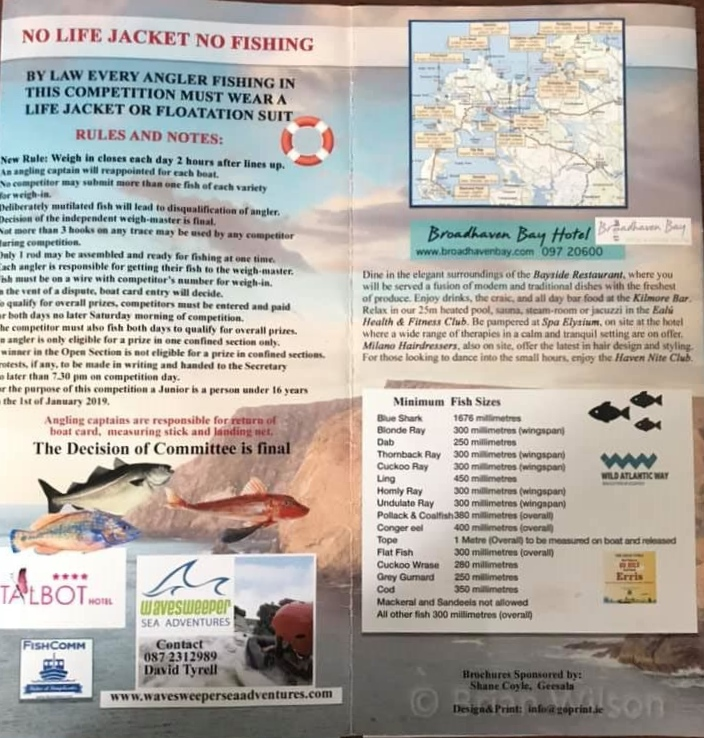 Belmullet Sea Angling Festival 2019